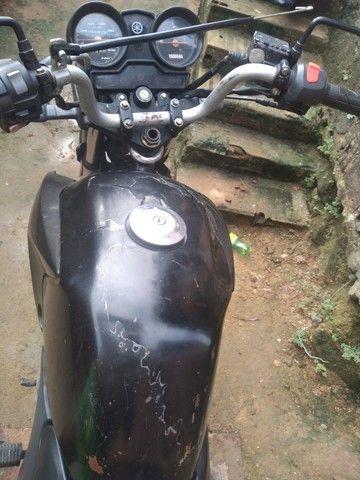 Moto Yamaha Ybr Factor 125 ED 2009 toda em dia e placa Mercosul (LEIA A DESCRIÇÃO) - Foto 7