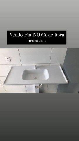 PIA DE FIBRA BRANCA  NOVA