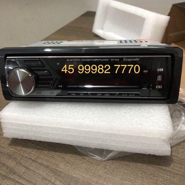 Rádio automotivo Novo Bluetooth R$110 - Foto 7