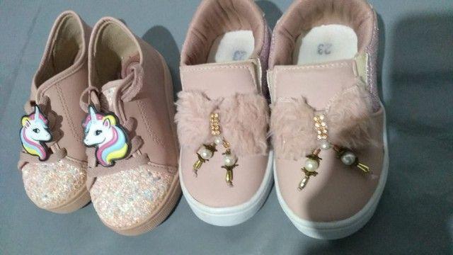 Sapatos infantil menina  - Foto 2