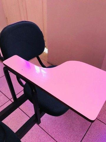 Carteira Universitária. Cadeira Escolar.  - Foto 2