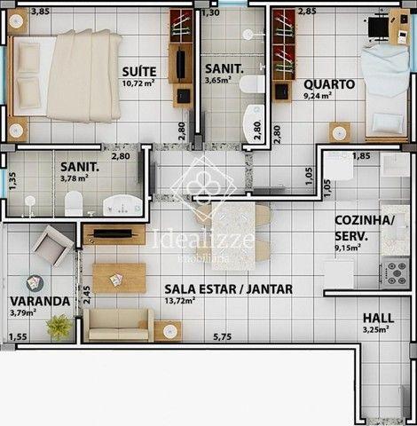 IMO.003 Apartamento para venda Retiro- Volta Redonda, 2 quartos - Foto 13