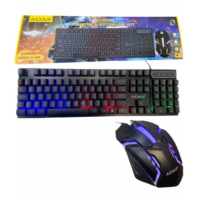 Kit teclado e mouse led - Foto 3