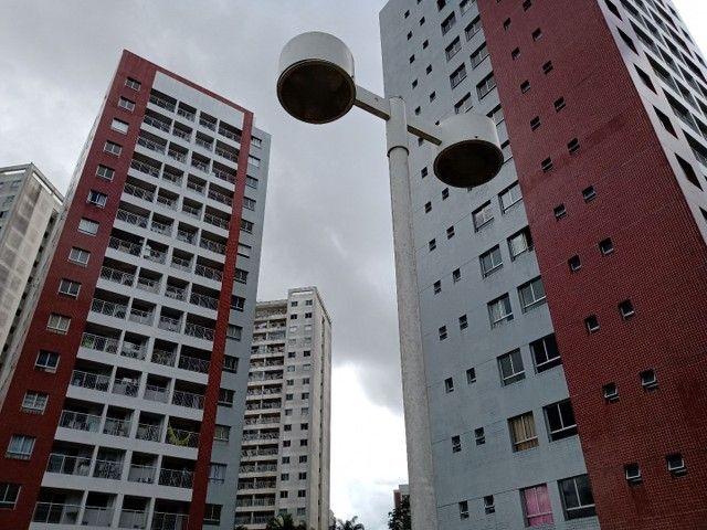 APARTAMENTO NOVO PRONTO PRA MORAR LOCALIZAÇÃO EXELENTE PONTA NEGRA. - Foto 2