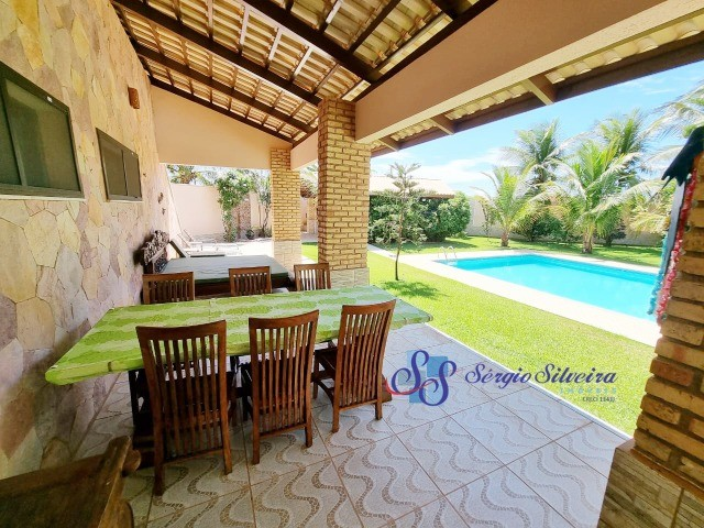 Casa no Porto das Dunas com piscina, 5 quartos, super conservada, excelente localização!  - Foto 3