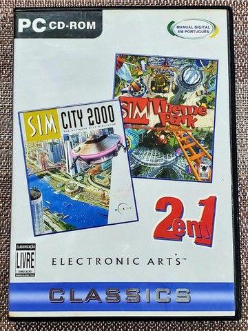 Sim City 2000 + Sim Theme Park PC