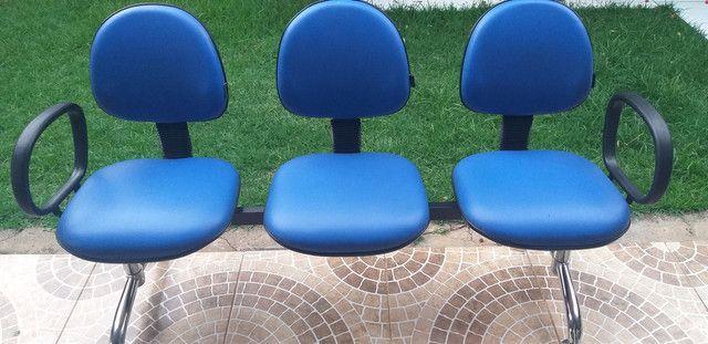 Cadeiras Longarinas. - Foto 3