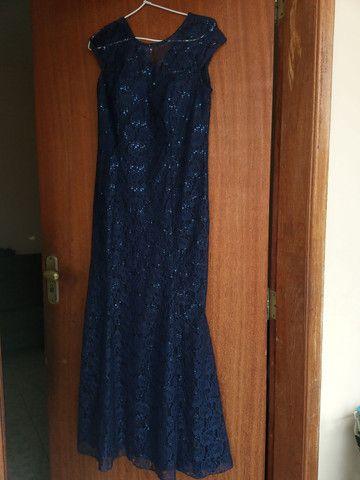 Vestido de festa, usado uma única vez. - Foto 2