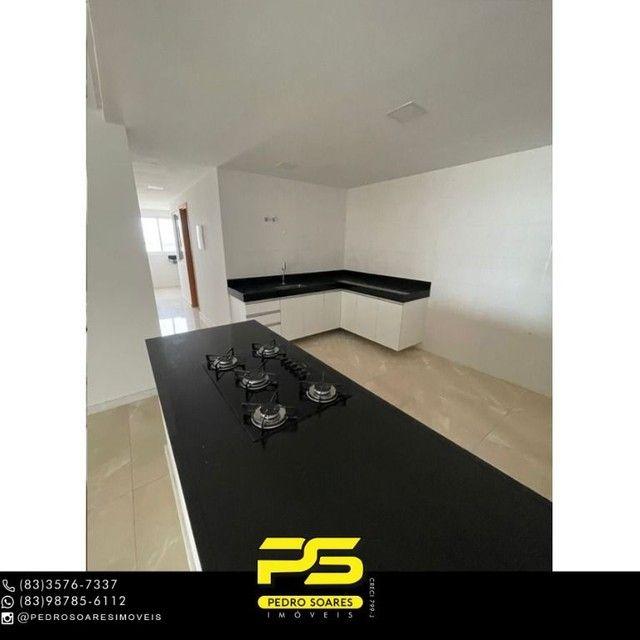 Apartamento com 3 dormitórios para alugar, 190 m² por R$ 6.200/mês - Altiplano Cabo Branco - Foto 8