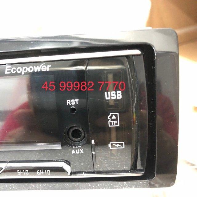 Rádio automotivo Novo Bluetooth R$110 - Foto 9