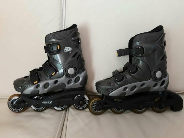 Vendo patins semi novo 180