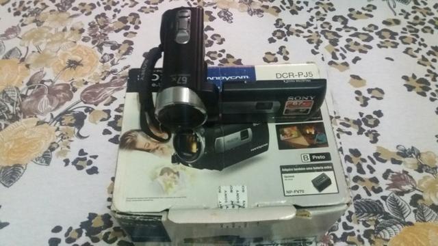 Filmadora sony Handy Cam dcr-pj5 digital com projetor