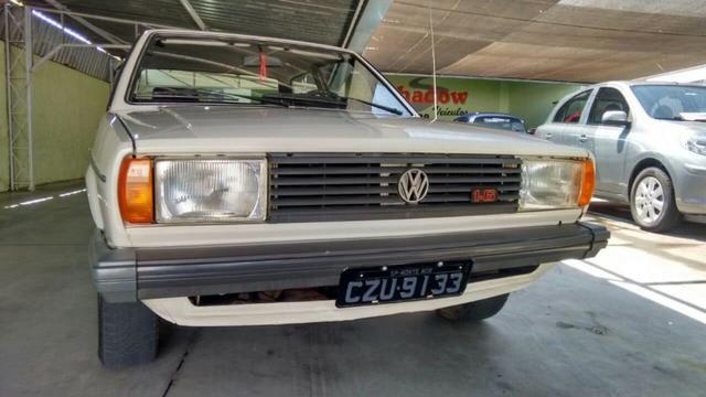 Vw - Volkswagen Voyage LS Placa Preta Original - Foto 2