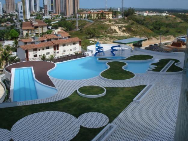 Apartamento de 3 quartos com vista pro mar na Praia de ponta negra, Natal, RN