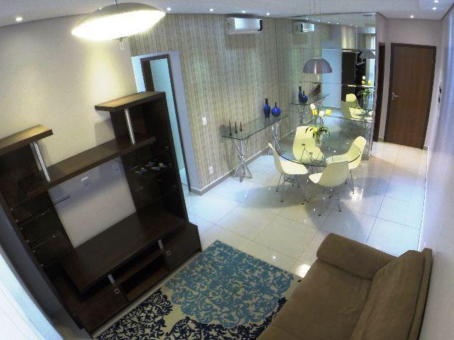Apartamento 3 quartos mobiliado Weekend Club Ponta Negra