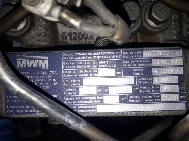 Motor Parcial MWM X12 Eletrônico 4cc Cargo/Volare/VW/Agrale - Foto 7