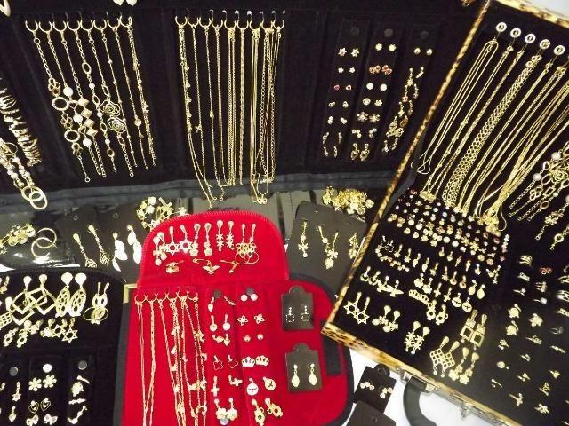 5dc59b3b4 Kit Semi joias banhadas a ouro 60 peças -185 reais - Bijouterias ...