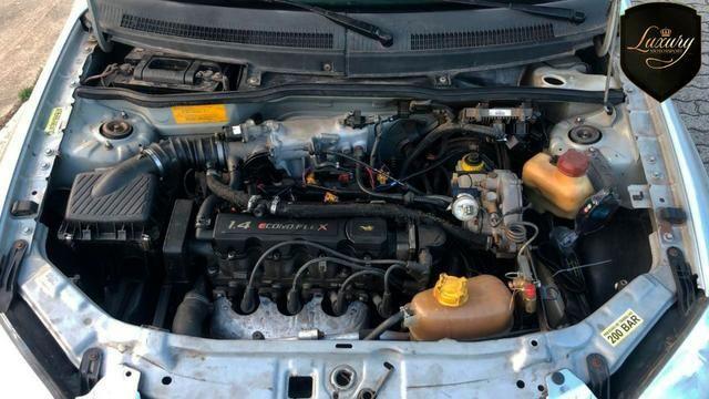Gm - Chevrolet Prisma Joy 1.4 Flex + GNV - Foto 9