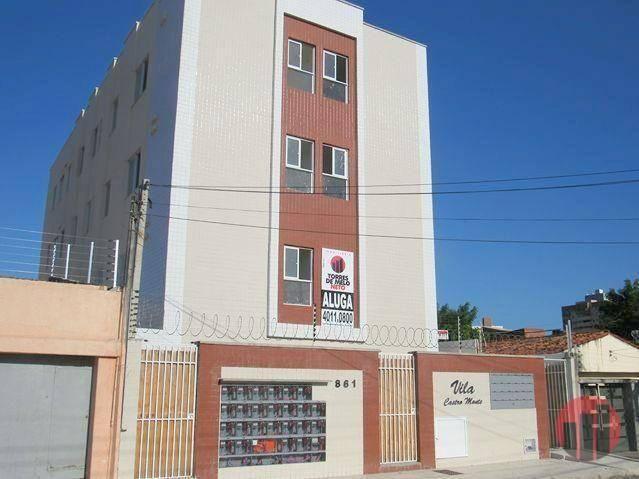 Kitnet com 1 dormitório para alugar, 30 m² por R$ 850/mês - Varjota - Fortaleza/CE