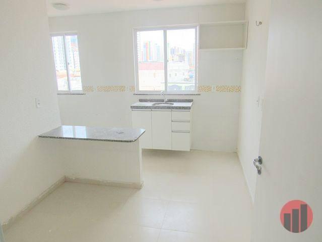 Kitnet com 1 dormitório para alugar, 30 m² por R$ 850/mês - Varjota - Fortaleza/CE - Foto 6