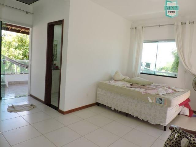 Casa em Barra do Jacuípe próximo a praia com seis amplos quartos - Foto 13