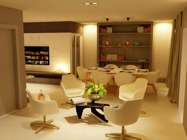 Parkville Residence Prive. Casa nova com 4 quartos sendo 01 suíte master - Foto 4