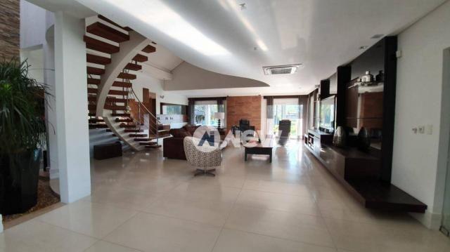 Casa com 4 dormitórios à venda, 506 m² por r$ 2.300.000,00 - lomba grande - novo hamburgo/ - Foto 15