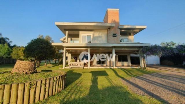 Casa com 4 dormitórios à venda, 506 m² por r$ 2.300.000,00 - lomba grande - novo hamburgo/