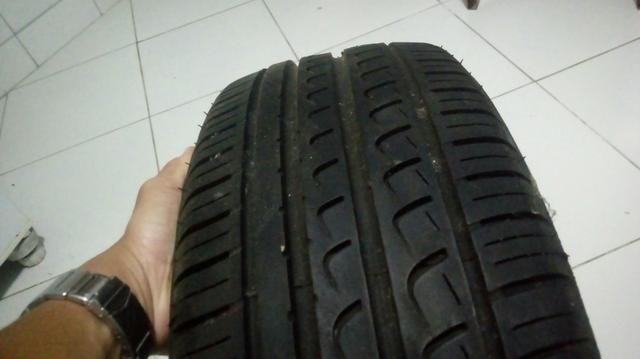2 pneus seminovos pouco uso - Foto 2