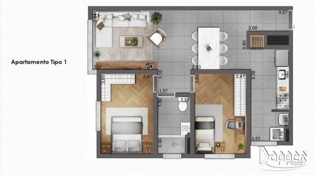 Apartamento à venda com 2 dormitórios em Canudos, Novo hamburgo cod:14517 - Foto 2