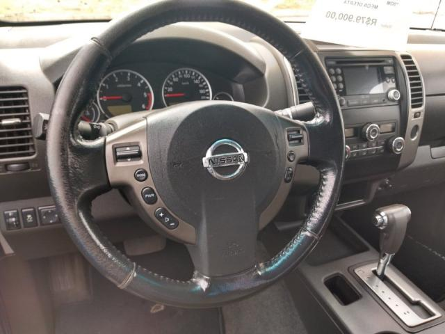 NISSAN FRONTIER 2013/2013 2.5 SV ATTACK 10 ANOS 4X4 CD TURBO ELETRONIC DIESEL 4P MANUAL - Foto 6