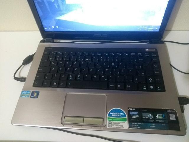 Notebook Asus i5, 6Gb memória