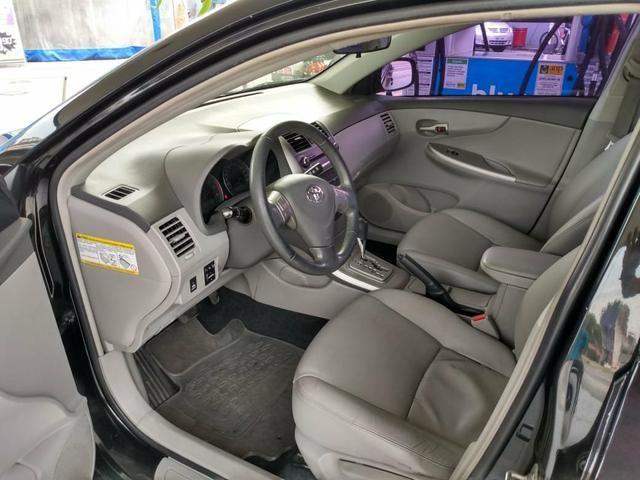 Corolla 1.8 xei 2009 flex unico dono - Foto 9