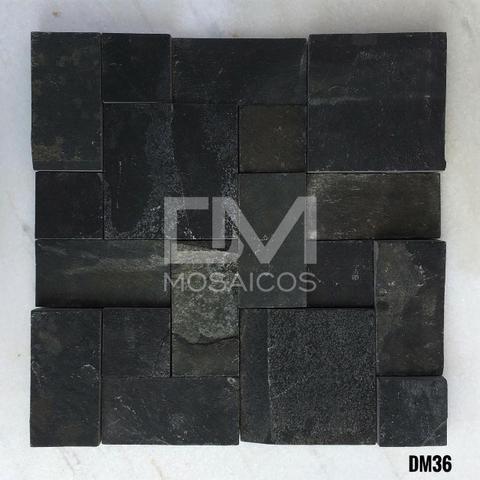 Mosaicos Pedra Ferro Preta - Foto 2