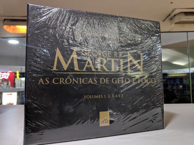 Box - As Crônicas De Gelo e Fogo - Pocket - 5 Volumes - Foto 2