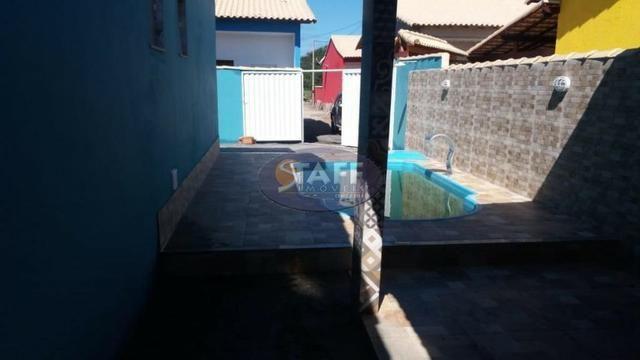 OLV-Casa com 2 dormitórios à venda, 150 m² por R$ 95.000 - Cabo Frio/RJ CA1343 - Foto 4