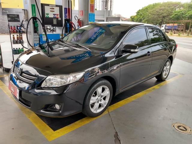 Corolla 1.8 xei 2009 flex unico dono - Foto 2