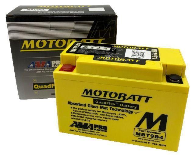 Bateria Agm Motobatt Mbt9b4 Yamaha Xt 660 R Xt 660 Z Tenere Xt 660 X Supermoto R6 96-05 - Foto 5