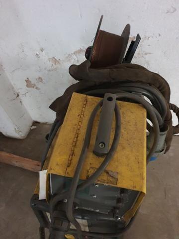 Máquina de solda Mig Esab modelo 318 - Foto 4