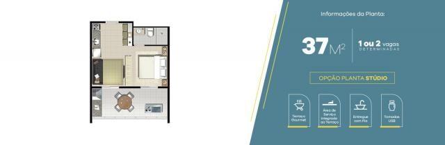 Apartamento no Jardim Vila Galvão, com 2 quartos, sendo 1 suíte e área útil de 55 m² - Foto 2