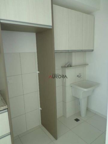 Apartamento com 2 dormitórios para alugar, 52 m² por R$ 1.300,00/mês - Vila Brasil - Londr - Foto 9