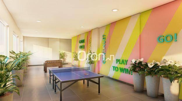 Apartamento com 3 dormitórios à venda, 87 m² por R$ 405.000,00 - Setor Pedro Ludovico - Go - Foto 11