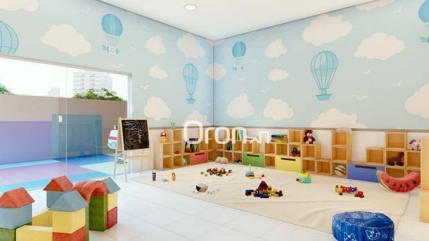 Apartamento com 3 dormitórios à venda, 87 m² por R$ 405.000,00 - Setor Pedro Ludovico - Go - Foto 12