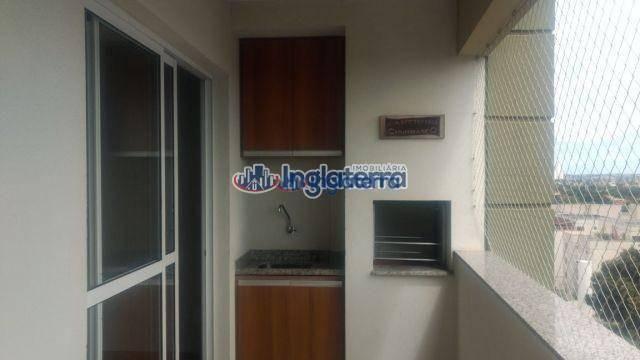Apartamento com 3 dormitórios à venda, 75 m² por R$ 295.000 - Vale dos Tucanos - Londrina/ - Foto 7