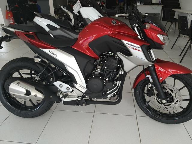 Entrada de R$ 4100 + 48x 598 Yamaha Fazer 250cc ABS 21/21 Imperdível - Foto 12