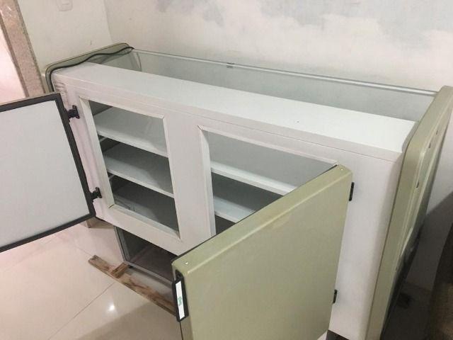 Balcão refrigerado seminovo, freezer,geladeira - Foto 5