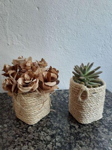 Cachepot artesanal  - Foto 2