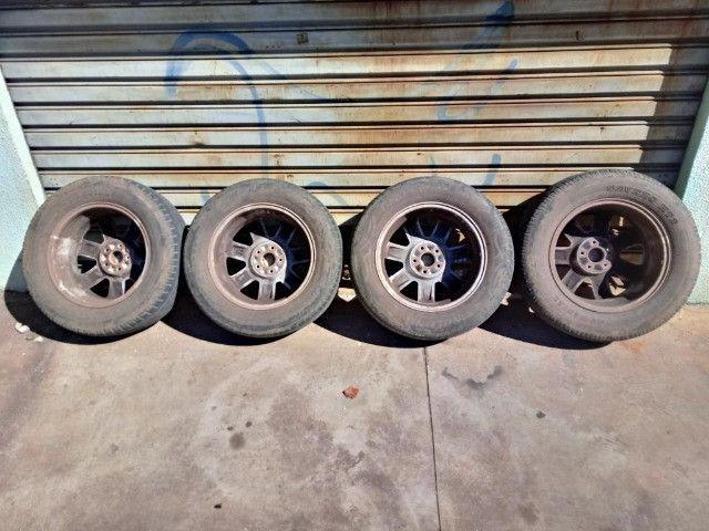 Jogo Roda Pneu Aro 17 Honda Crv 2011 - Foto 15