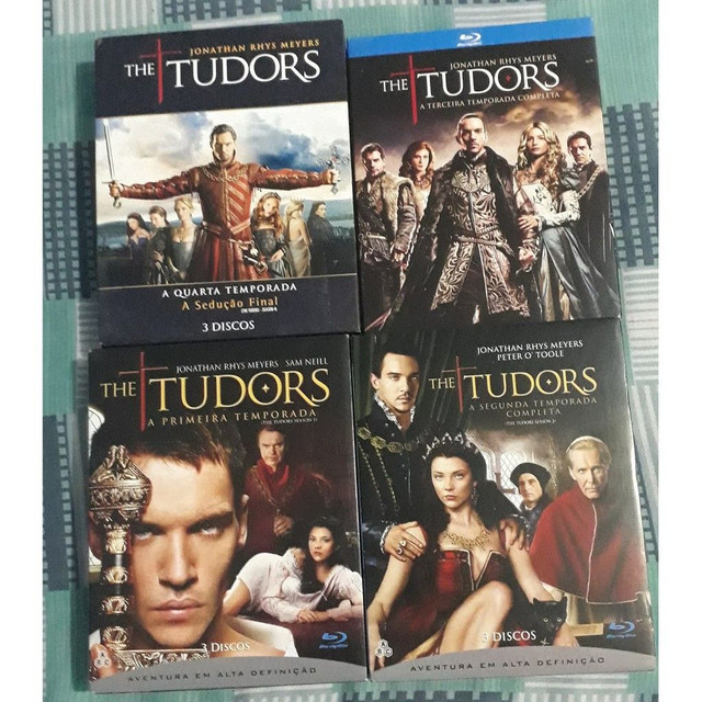 Bluray Seriado The Tudors