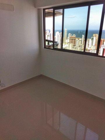 Apartamento em boa viagem 4 quartos 2 vagas de garagem , 185m² - padrão moura dubeux - Foto 14